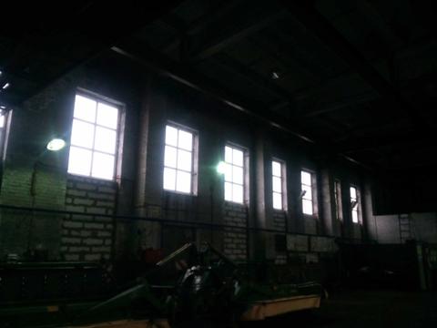 Производственное отапливаемое помещение в Колпино 1500м2 с кран-балкой - Фото 4