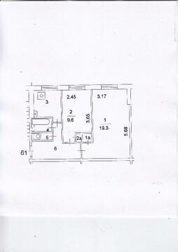 2-к Квартира, ул. Лавочкина, 22 - Фото 1