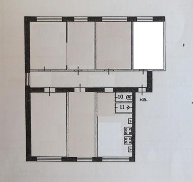 Продам комнату в г. Серпухов ул. Химиков д. 13 - Фото 4