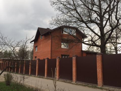 Кирпичный дом 520 кв.м с Троицкое Чеховский р-н, 35 км от МКАД - Фото 1