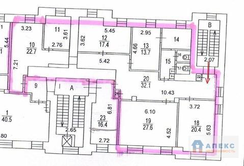 Аренда офиса 157 м2 м. Новослободская в бизнес-центре класса В в . - Фото 3