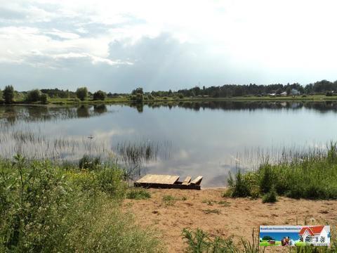 Участок 20 соток на берегу озера, Рузский р-н. - Фото 3