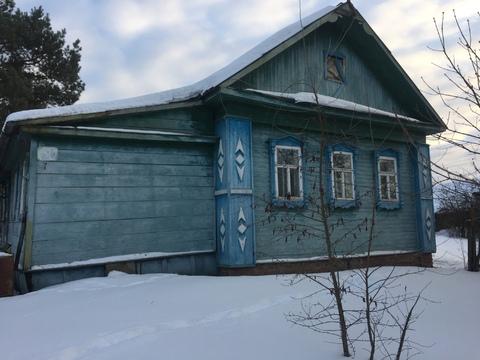Деревенский дом на 1 линии озера Ильинское - Фото 1