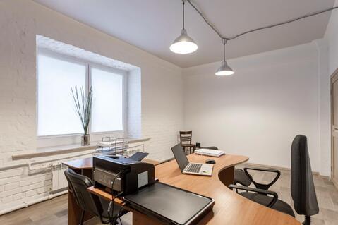 Офис 55.1 кв.м. 1 эт. жилого дома, вход через подъезд, кабинет. план. - Фото 4