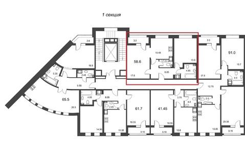 Квартира в новом доме бизнес-класса у метро Петроградская - Фото 5