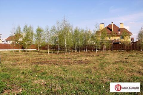 Участок 12,4 сотки в охраняемом поселке у леса, 27 км по Калужскому ш. - Фото 2