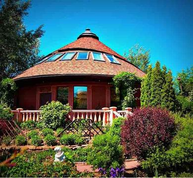 Уникальный дом на Рублевке, интересная архитектура, низкая цена, 15 км - Фото 1