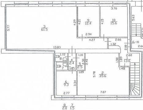 Прибыльное инвест-вложение: офис с долгосрочными арендаторами, 238м2 - Фото 4