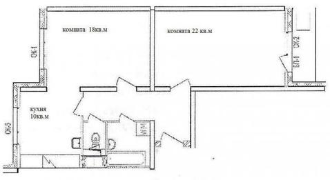 Сдаем 2х-комнатную квартиру ЖК-Митино-Лайф, Пятницкое шоссе, д.21 - Фото 1