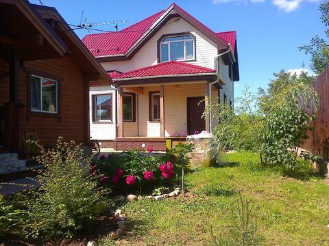 Дом 145 кв.м на уч-ке 4,5 сот, Можайское ш,27 км от МКАД, Голицыно - Фото 1
