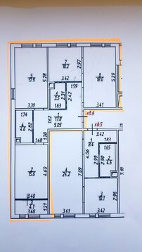 Продается 3-комнатная квартира в ЖК новокуркино - Фото 3