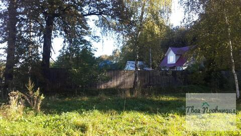 Участок 12 соток с лесными дерев. в деревне Старокурово Ступинский р-н - Фото 5