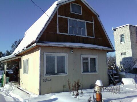 Продам 2-х этажный дом 8х7 на уч-ке 6 соток массив Трубников Бор - Фото 1
