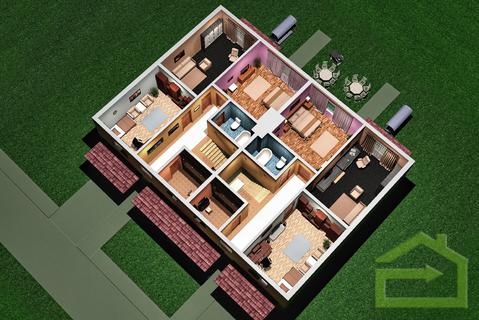 Квартира 124 квм с тремя спальнями в ЖК Прилесье - Фото 5