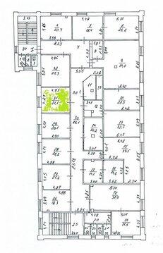 Аренда офисного помещения 21,1 м2, у метро Авиамоторная - Фото 2