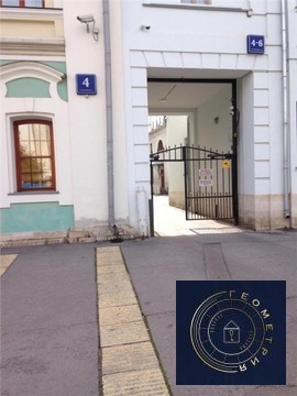 3 к. м. красные ворота Новая Басманная улица, 4-6 строение 3 (ном. . - Фото 2