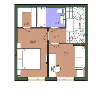 Таун-хаус 63 кв.м по доступной цене - Фото 3