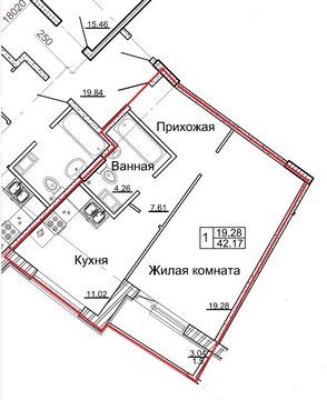 Квартира в ЖК Александровском с евроремонтом техникой и мебелью - Фото 3