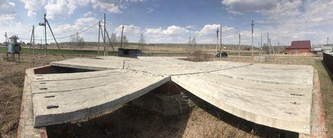 Участок в Долгодеревенском, 16 сот, с фундаментом - Фото 1