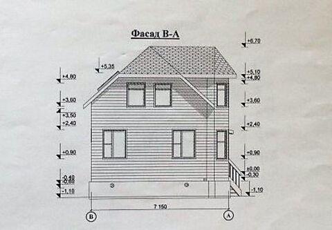 Продаем двухэтажный дом с участком СНТ Радуга - Фото 1