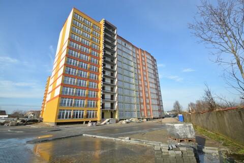 Однокомнатная квартира в тихом спальном районе, Купить квартиру в новостройке от застройщика в Калининграде, ID объекта - 323403254 - Фото 1