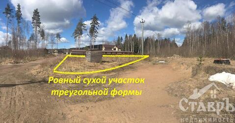 Выборгский район, п.Зеленая Роща, 12 сот. СНТ - Фото 1