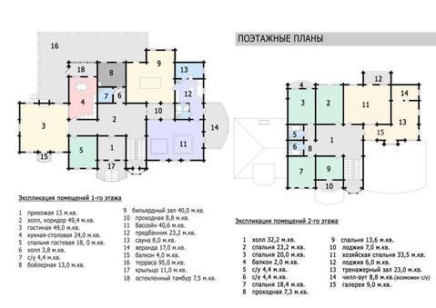 Продается новый коттедж 500 кв м в охр коттеджном поселке - Фото 5