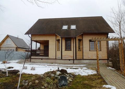 Дом 180 м2 на участке 18 соток д. Юсупово - Фото 1
