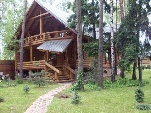Деревянный коттедж на 22 человека с купелью - Фото 1