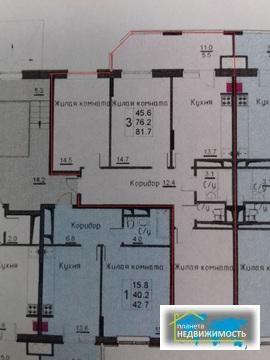 Продаётся просторная 3-х комн.квартира в новостройке, г.Истра.