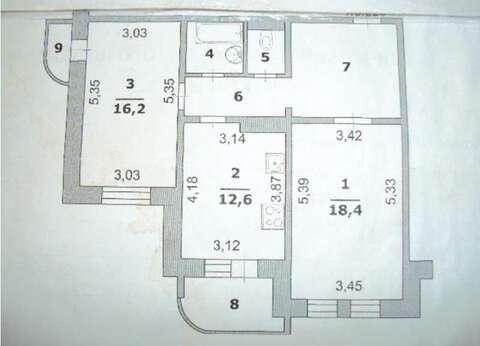 Продажа квартиры, Белгород, Ул. Славянская - Фото 3