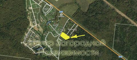 Участок, Киевское ш, Калужское ш, 41 км от МКАД, Жедочи д. . - Фото 4