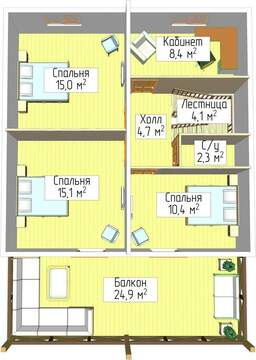 Продажа: дом 170 м2 на участке 6 сот. - Фото 4