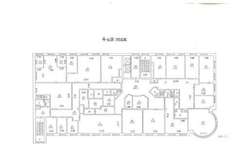 Офисное помещение 811 кв.м. около м.Краснопресненская в БЦ класса А - Фото 4