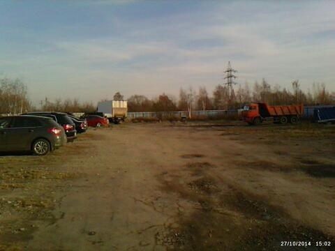 Пром. участок 45 сот в Щербинке со строениями - Фото 1