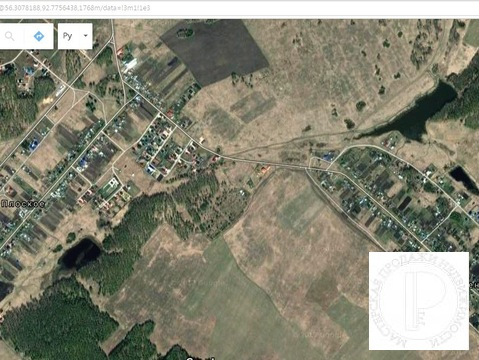 Земельный участок деревня Плоская - Фото 2