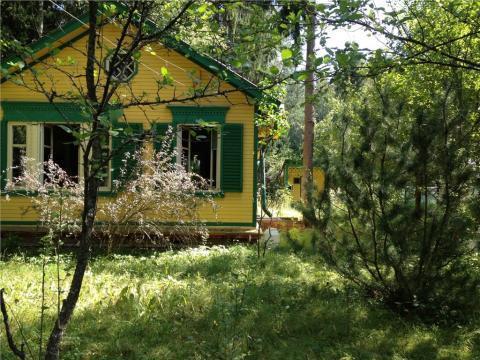 Участок 12 соток, лесной, с плодовыми и лесными деревьями, в хорошем с - Фото 1