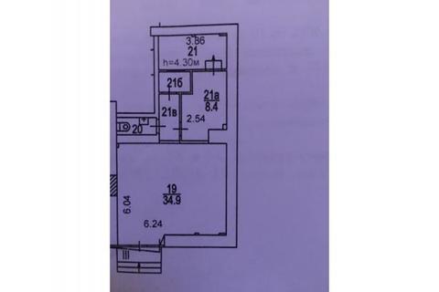 Нежилое помещение 59кв.м, 1-я линия, проспект Андропова 38, этаж 1/10 - Фото 2