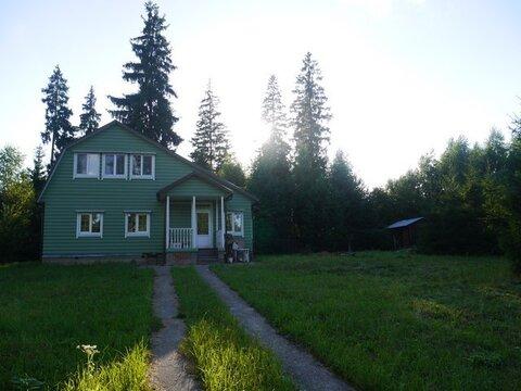 Зимний дом 123 м из натурального дерева в ДНТ Рузаево ! - Фото 1