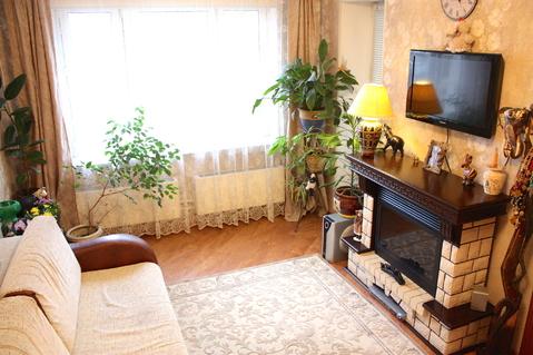 3-к квартира с ремонтом в новом доме, 3 мин до ст.м. Алма-Атинская - Фото 2