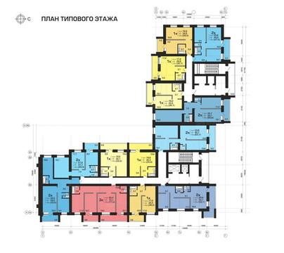 Продажа 2-комнатной квартиры, 64.3 м2, Пугачёва, д. 29а, к. корпус А - Фото 1