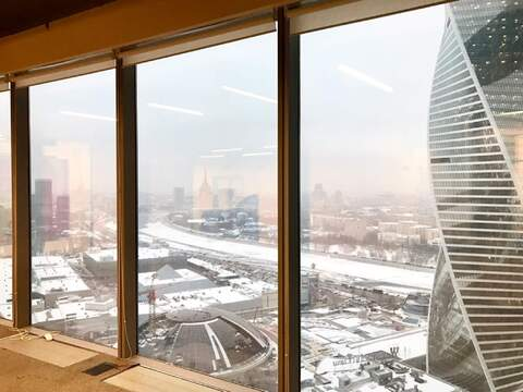 Москва-Сити. Видовой sky-офис 198м2 на 5 кабинетов - Фото 3
