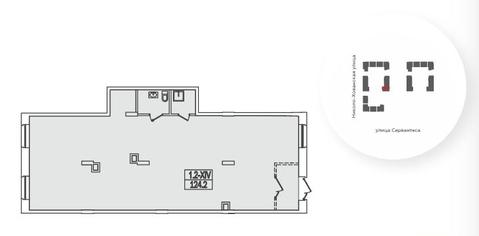 Псн в собственность 209.6 м2, м.Теплый Стан - Фото 2