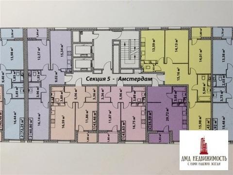 2-комнатная Эталон-сити 3 корпус. Эдинбург (ном. объекта: 6263)