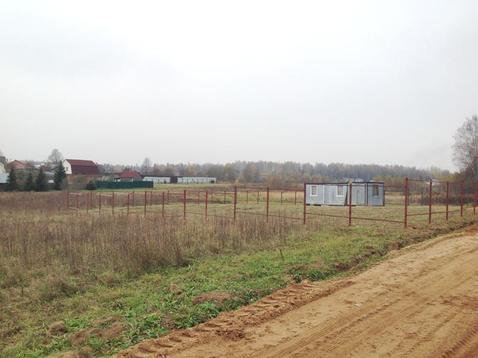 Участок в деревне 5 соток в 45 км. от МКАД. - Фото 1