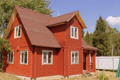 Дом из клееного бруса 120 кв. на участке 10 соток в деревне Горловка - Фото 1