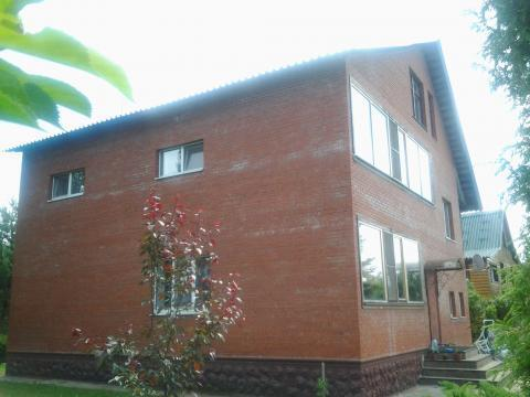 Кирпичный дом 340 кв.м. на берегу р. Руза, Рузский район 100 км. МКАД - Фото 4