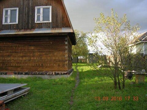 Недостроенный дом в д. Барыбино - Фото 1