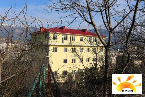 Студия с ремонтом,22м2, новый дом, Ялта,3эт, балкон, всё для отдыха, ж - Фото 2