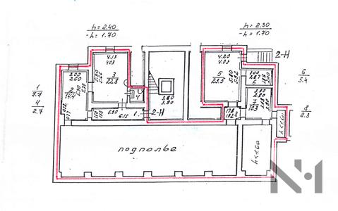 Продается офис 89 м2 по адресу ул. Рентгена 11 - Фото 1